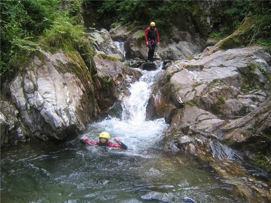 Canyoning Mölltal Flattach Kärnten