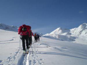 Mölltaler Gletscher in Flattach