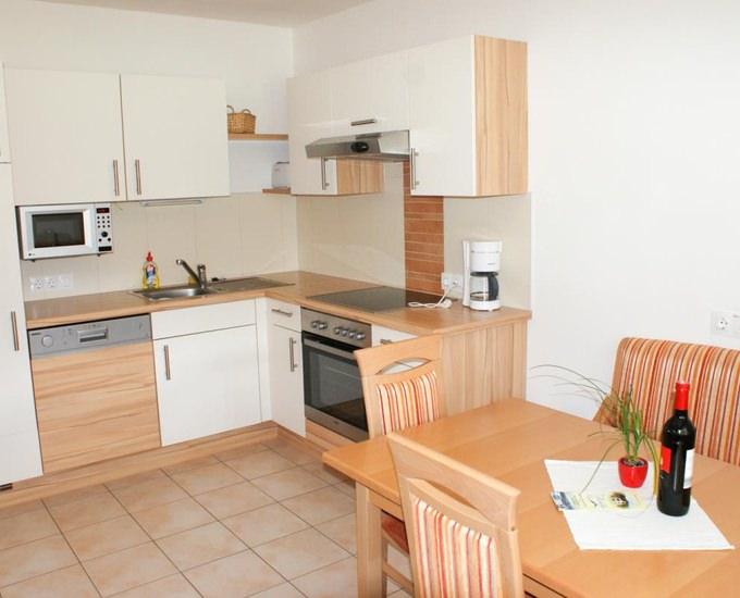 Appartement Küche von Appartements Monika